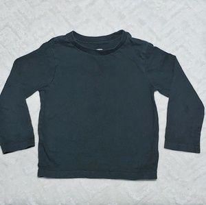 Children's Place long sleeve black shirt 2T
